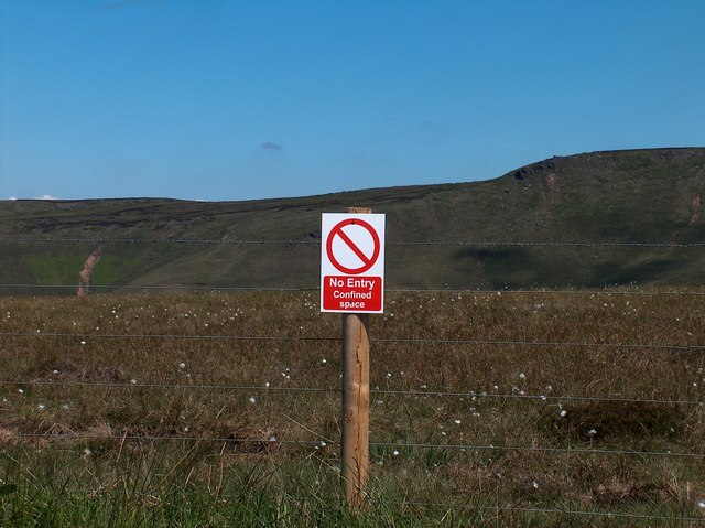 View from Snake Pass Summit (A57) to Gathering Hill