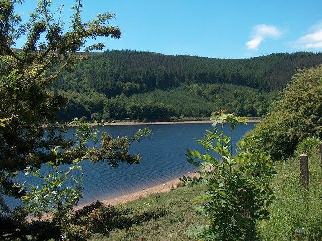 Ladybower Reservoir in June
