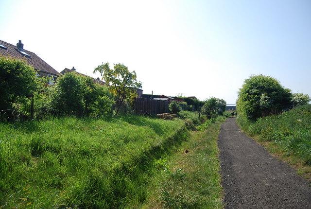 Old railway line, Hawsker