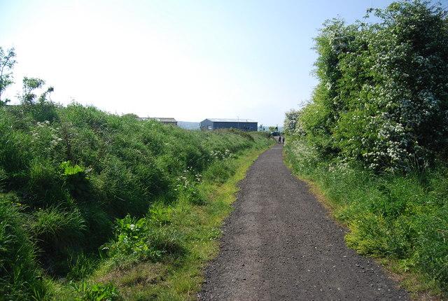 The old railway, Hawsker