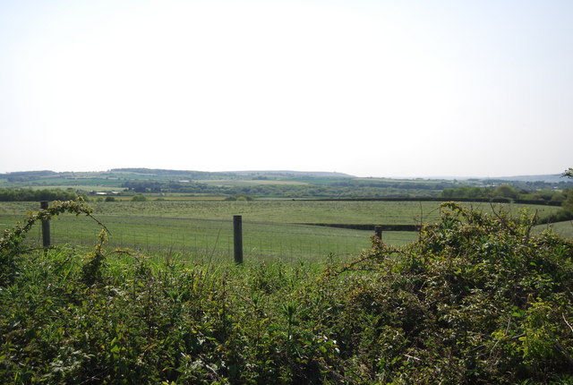 View south from the old railway at Hawsker