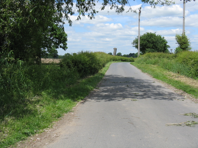 Cookesmere Lane - exit from Elworth