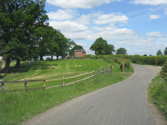 View toward The Cottage