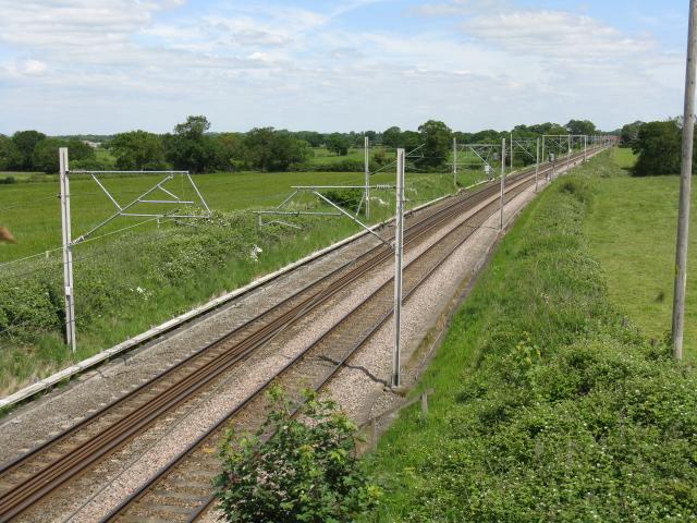 Manchester & Birmingham Railway from Bradwall Road