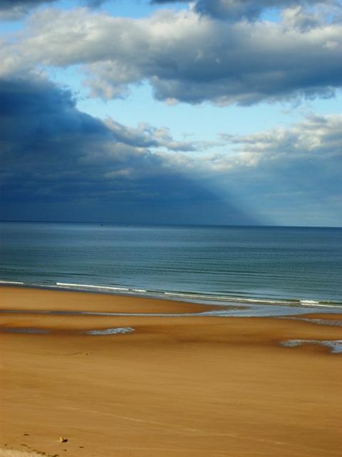 North Sea at Lunan Bay