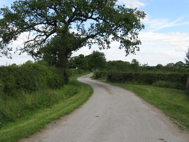 End of Brindley Lane