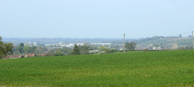 2010 : Panorama of Calne from Bowood Estate