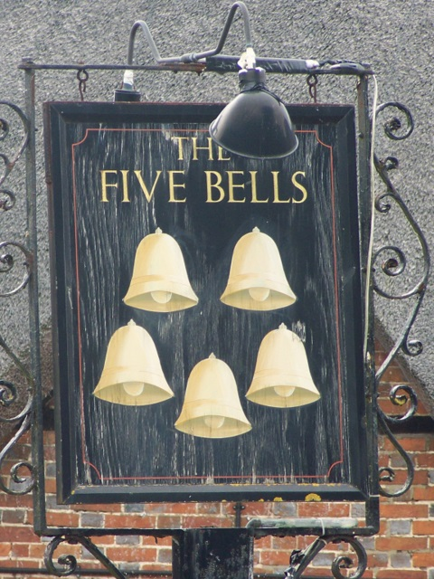 Sign for the Five Bells