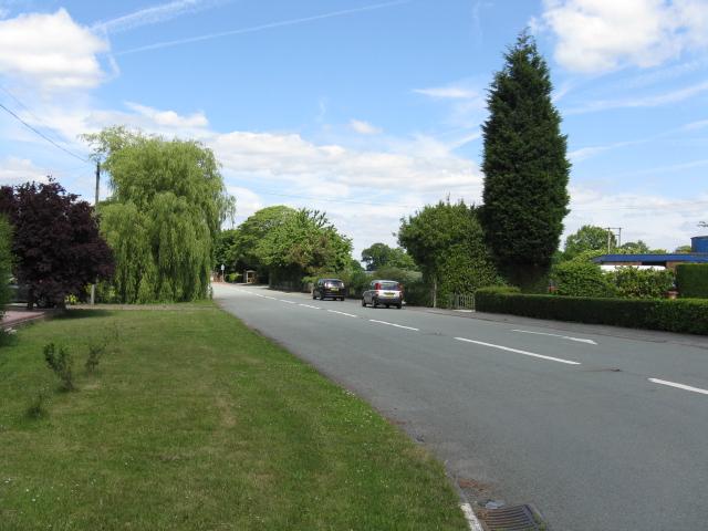 Brereton Green - the old main road