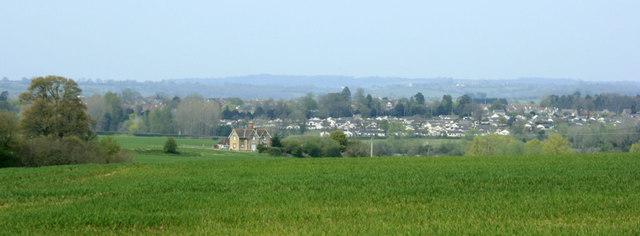 2010 : Looking north near Pinhills Lane Plantation