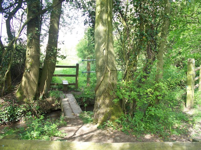 Footpath and bridleway