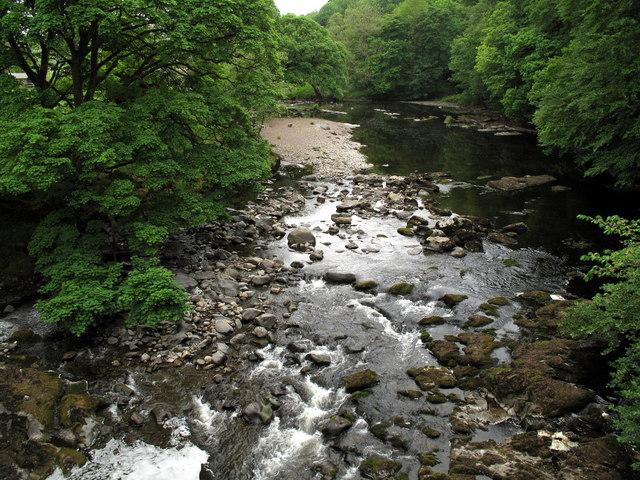 River Rawthey from Middleton Bridge