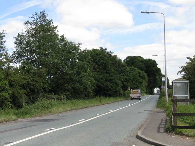 A533 at Arclid Green