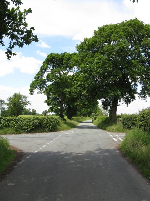 Crossroads on Brookhouse Lane
