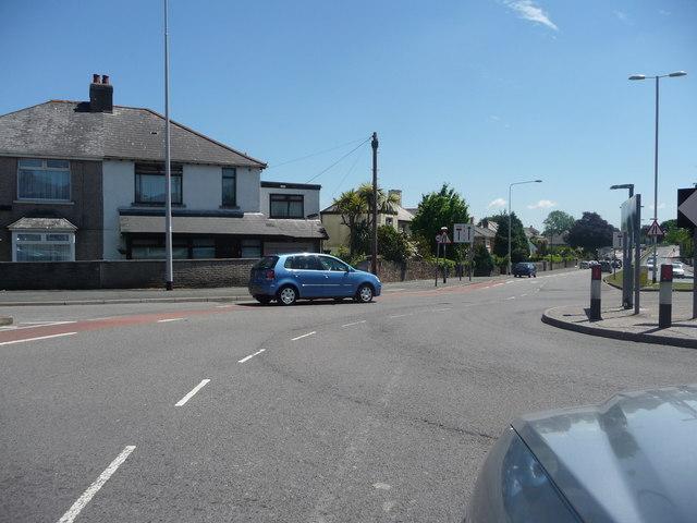 Plymouth : Elburton - Elburton Road Roundabout