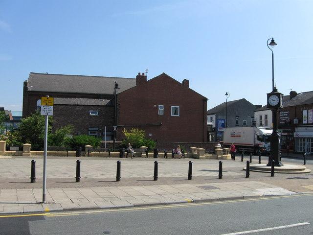 Peter Kane Square, Golborne