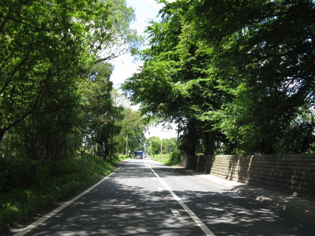 A54 at Somerford