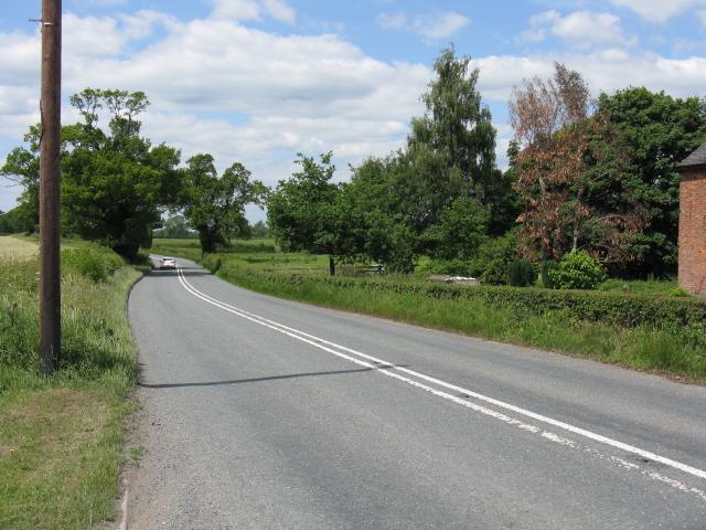 A54 at Sandlow Green