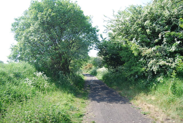 The old railway line near Stainsacre