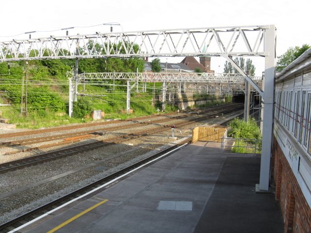 Stockport No.1 Signalbox - view south