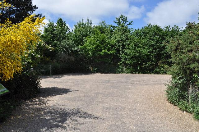 Car park at Herringfleet hills