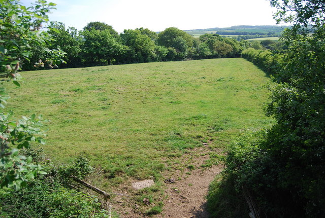Field south of the old railway