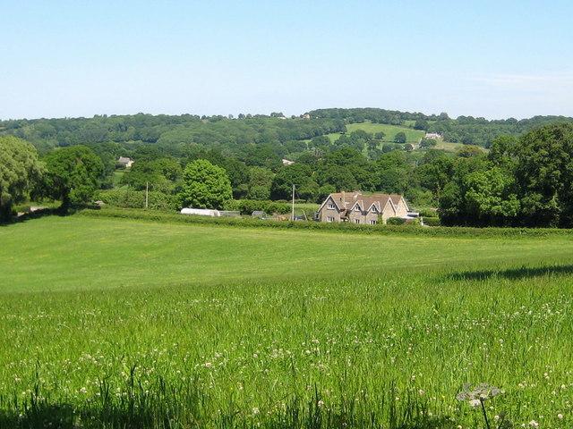 Farmland between Corscombe and Halstock