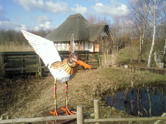 Ready for take off at the London Wetland Centre