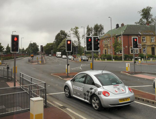 The middle of Kingsway