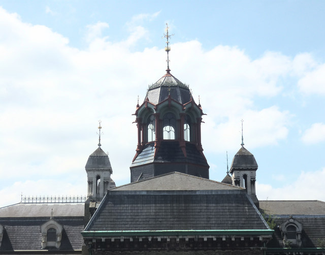 Turrets, Abbey Mills Pumping Station, Stratford, London E15
