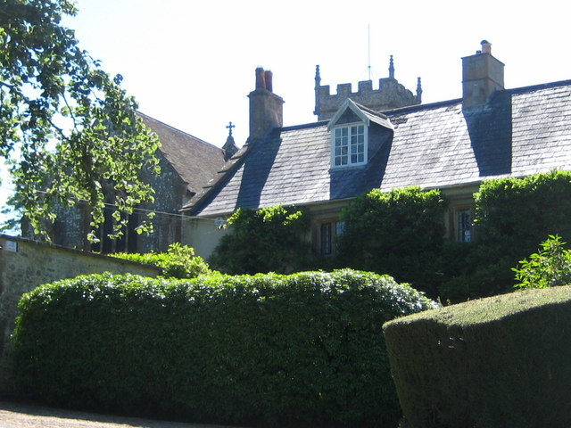 St Mary's and the Old Rectory - Corscombe