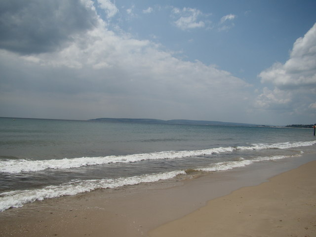 View of Brownsea Island from Bournemouth #3