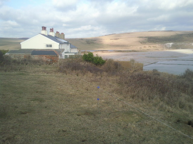 The Coastguard Cottages and Cuckmere Haven