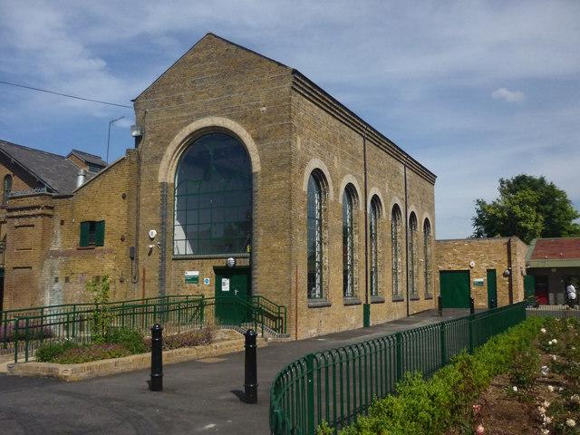 Markfield Road Pumping Station, South Tottenham, London N15