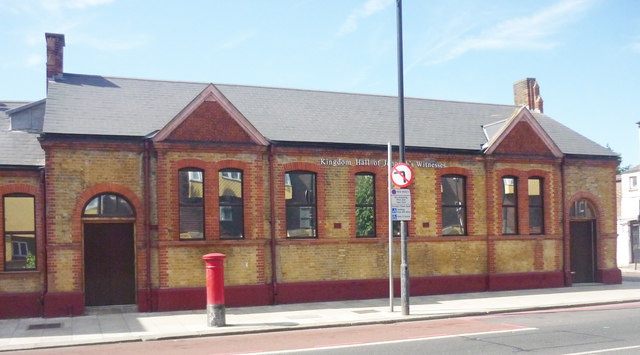 Kingdom Hall of the Jehovah's Witnesses, Seven Sisters, London N15