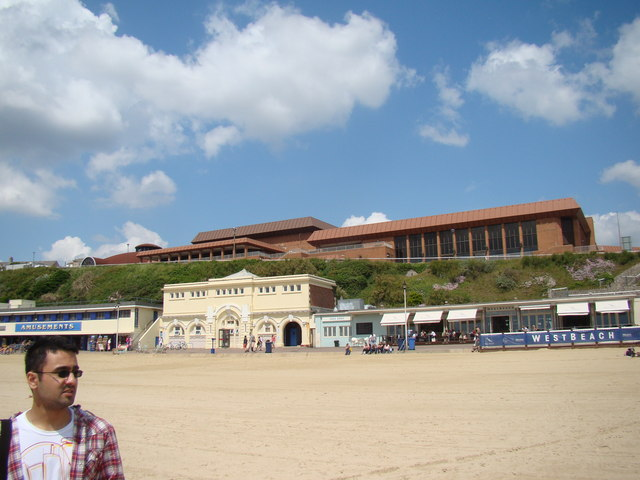 View of BIC from the beach