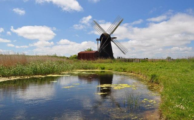 Herringfleet Smock Drainage Mill