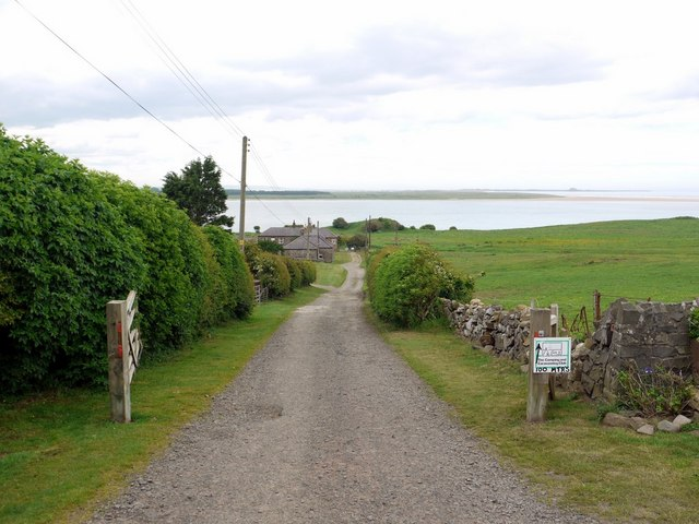 Track from Budle to Kiln Point