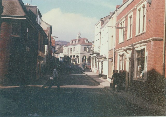 Silver Street, Dursley in 1985