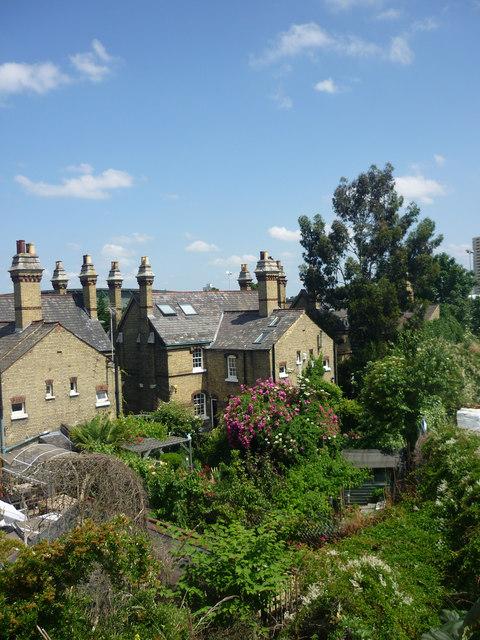 Houses, Abbey Lane, Stratford, London E15