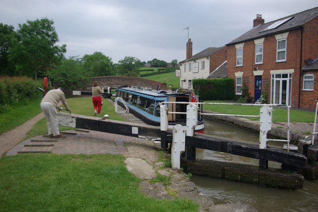 Braunston no 3 Lock
