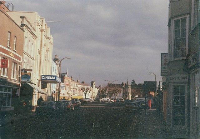 St John's Street, Devizes in 1985