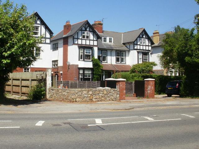 Cardiff Road houses, Dinas Powys