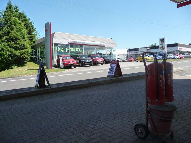 South Hams : Chittleburn Hill & Rodgers Car Dealership