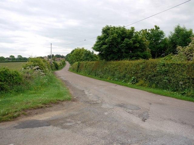 Minor road near Waren Caravan Park