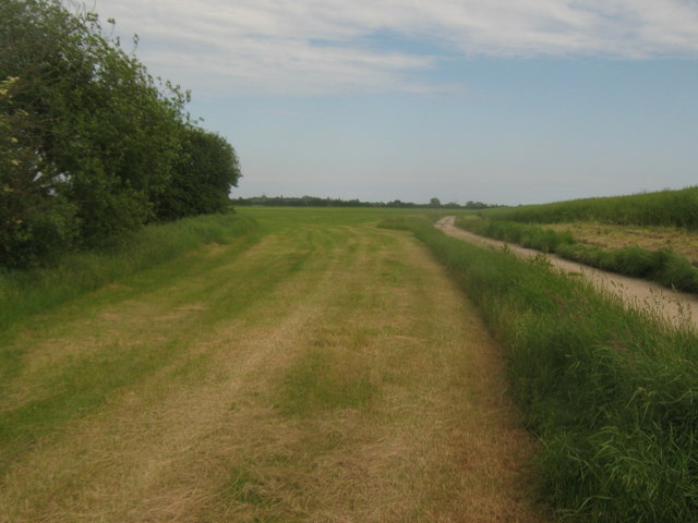 Bridleway near Chapel Bank Farm