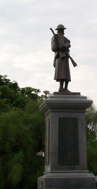 Cofeb Ryfel Pwllheli War Memorial