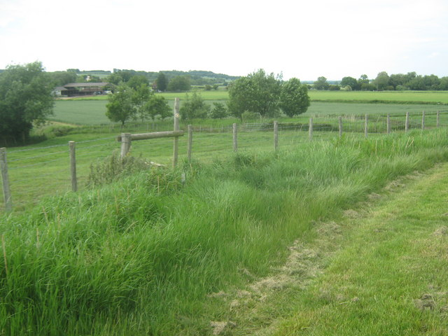 Footpath junction on Chapel Bank