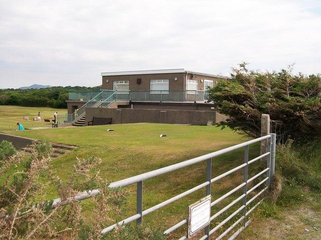 The Club House of the Pwllheli Golf Club