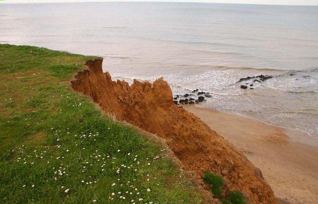 Compton Bay cliff
